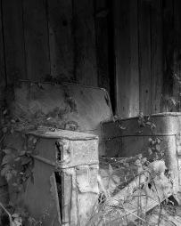 "Abandoned Chair, 8""x10"" digital photograph"