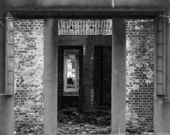 "Hiroshima Doorway, 8""x10"" digital photograph"