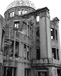 "Hiroshima Dome, 8""x10"" digital photograph"
