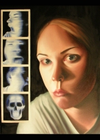 "Janus' Revelation, 2004, 24""x30"" oil on canvas--SOLD"